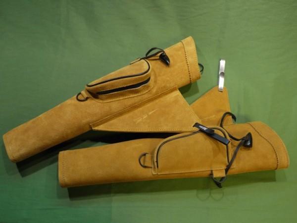 Seitenköcher mit Seitentasche