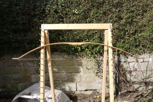 Laminierter Bambus Bogen